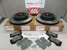 Toyota Tacoma 05-15 4x4/PreRunner Front Brake Pads & Rotors Set Genuine OE OEM