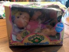 Nib JAKKSPACIFIO Cabbage Patch Kids Newborn 2007 DELIA DAISY March 18th  SEALED
