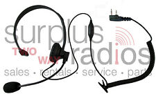 Headset für Kenwood 2 Pin Radio TK3160 TK372 TK272 TK2160 TK3173 TK2173 TK3200
