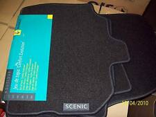 Renault Scenic 2004 2005 2006 2007 2008 Genuine Mats Floor Carpet Grey Textile