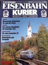 Eisenbahn Kurier n°11 1991 - 50 Jahre Baureihe 23 -  Tr.20