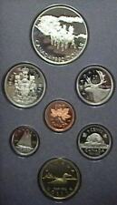 1992 Canada Proof Double Dollar Set