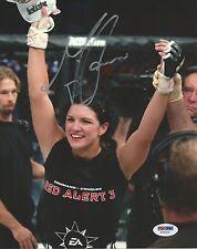 Gina Carano Signed UFC 8x10 Photo PSA/DNA COA Picture StrikeForce EliteXC Auto 1