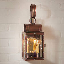 Country new Antiqued copper Outdoor double wall lantern light/ Nice