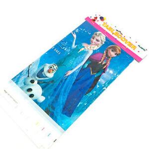 108*180cm Frozen Elsa Anna Birthday Party Deco Plastic Disposable Table Cover