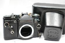Zenit EM 35mm SLR camera body, M42 lens mount, Working meter & ERC Case