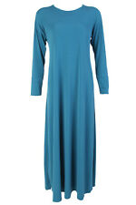 Abaya Dress for Women Maxi Dress Black Flared Jilbab Sizes 52/54/56/58 UK Made