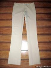 H & M HENNES ~ Size 8 (Runs like a 2 or 4) ~ Caffe Latte Dress Pants