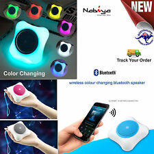 Bluetooth Mini Speaker Amazing Sound Quality with Colour Changing lights
