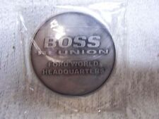 2011 MUSTANG MEMORIES SHOW BOSS 302 REUNION COMMEMORATIVE COIN AT FORD WHQ-RARE!