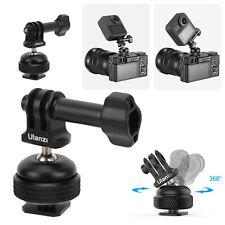 Ulanzi Sports Camera Adapter 360 Degree Rotary Tripod Ball Head w/Cold Shoe Base