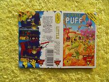 LITTLE PUFF - sinclair spectrum - original artwork cover / inlay sleeve