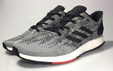 Adidas Pureboost DPR NEW Men's Running Shoes Boost S80993 Gray White Black Red