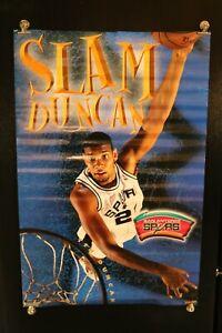 Tim Duncan San Antonio Spurs Slam Duncan Basketball Poster 6195 HTF