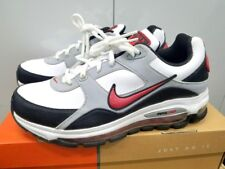 NIKE AIR MAX BRS 1000 MEN'S SIZE 7.5 WHITE/RED/GREY/BLACK 401092-106