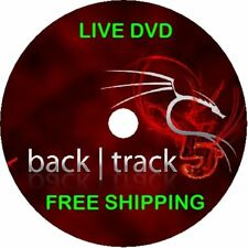 BackTrack Linux Latest DVD Persistent Hacking 32 64 4 5 6 R2 R3 Free Shipping