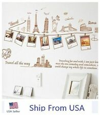 World Traveling Removable Home Decor Wall Sticker Vinyl  Room Home DIY Art Decal