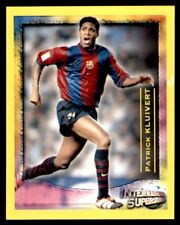 Panini Scottish Premier League 2000 Patrick Kluivert International Stars No.221