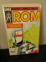 ROM Spaceknight 37 Marvel bagged boarded~