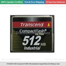 TS512MCF100I Transcend 512MB 100x Industrial CompactFlash (CF) Memory Card