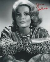 GENA ROWLANDS SIGNED AUTOGRAPH 8X10 PHOTO   GLORIA  THE NOTEBOOK