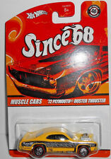 Hot Wheels Since '68 Muscle Cars Series '72 PLYMOUTH DUSTER THRUSTER