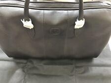 Rolls Royce Leather Travel Bag Authentic Accessory Leather