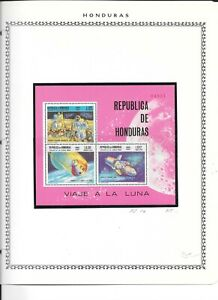 HONDURAS. 1969. SPACE MINIATURE SHEET2. NEVER HINGED MINT. NOTED IN SG AFTER 754