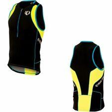Pearl Izumi In-R-Cool Tri Triathlon Mens Cycling Singlet Vest Small Black