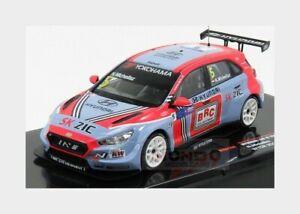 1:43 Ixo Hyundai I30 #Tcr #5 Wtcr Season 2018 N.Michelisz Light Blue Red GTM144
