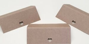 100 Love Heart Brown Kraft Table Place Name Cards,Wedding Place Names,