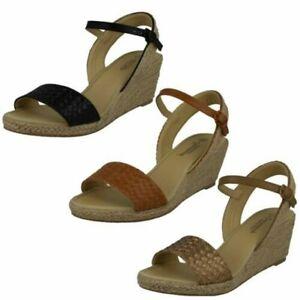 Ladies Savannah Rope Wedge 'Sandals'