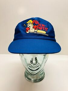 Vintage RARE 1988 Nintendo Punch-Out!! Game SnapBack Baseball Hat