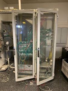 Rittal Server Schrank Netzwerk Anschluss EDV 19 Zoll Rack  DK7675 aus Insolvenz
