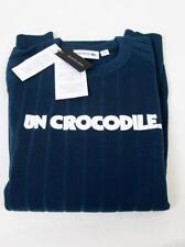 LACOSTE Lana Coccodrillo ONU Maglione Pullover Girocollo £ 190 verde acqua taglia 6 XL
