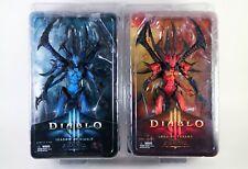 Neca Diablo 3 Lord of Terror - Shadow of Diablo Action Figure Lot  New