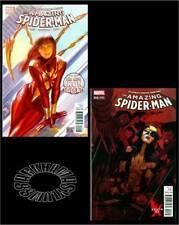 AMAZING SPIDER-MAN v4 #15+#15(X-23)(9/16)1:MJ AS(NEW)IRON SPIDER(AVENGERS)CGC EM
