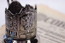 Podstakannik RUSSIAN TEA GLASS HOLDER the emblem of Russia