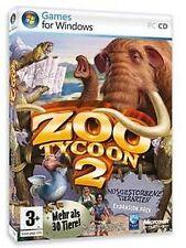 ZOO TYCOON 2 AUSGESTORBENE TIERARTEN sehr Guter Zustand