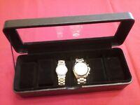 Leder Uhrenbox Uhrenkoffer Schmuckkästchen Uhrentruhe Uhrenkasten Uhrenschatulle