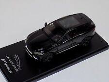 1/43 True Scale TSM Jaguar F-Pace SUV in  Black Dealer Edition