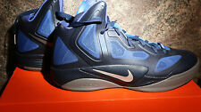Nike ZOOM HYPERFUSE 2011 SPRM Midnight Navy/Metallic Silver 469757-400 SIZE 10