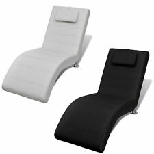 Modern Lazy Boy Recliner Chair Furniture Relax With Matching Pillow Faux Leather