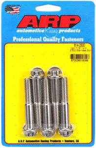 ARP614-2500 ARP 614-2500 7/16-14 X 2.500 12Pt 1/2 Wrenching SS Bolts