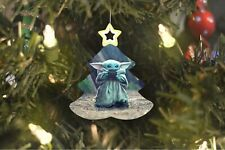 Baby Yoda Star Wars Christmas Tree Ornament