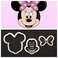 Formine Minnie Mouse Formina Biscotti 7/8cm Cookie Cutter Topolina