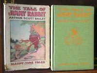 The Tale of Jimmy Rabbit,Sleepy Time Tales,Arthur Scott Bailey,1916,1st Ed, DJ