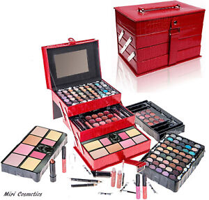 Kid Safe Makeup Kit, Cosmetic Kit, ALL IN ONE Full Make up Set, 81 Piece Set