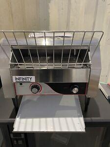 Infinity Heavy Duty Double Conveyor Toaster-Bun Toaster-Toast Maker