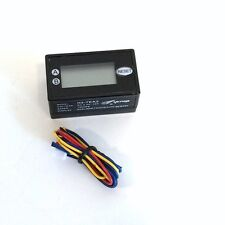 COIN METER RESETABLE 12V 2 ROWS 7 DIGITS LCD COUNTER